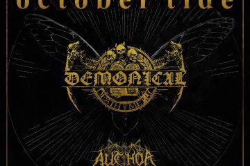 Demonical und October Tide septem 2016 flyer