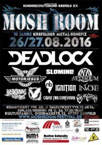 Moshroom Festival Poster 2016