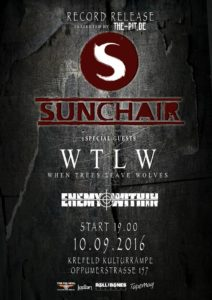 Record Releaseshow Sunchair Poster 2016
