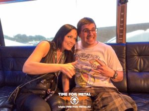 Interview mit Tarja - Wacken 2016