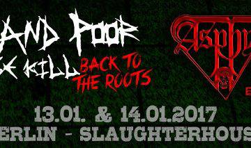 Rotten And Poor Satge Kill Festival 2017 Stand 06.09