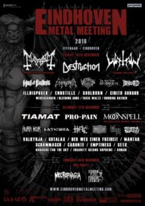 Eindhoven Metal Meeting 2016 Flyer Stand 04.10