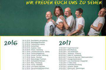 Knorkator Tour 2016 bis April 2017