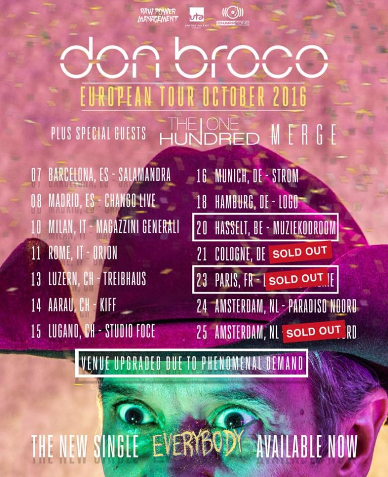 Don Broco, Luxor, Köln, 21. Oktober 2016