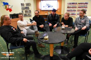 Interview mit Blue Sky Theory beim Insane Band Battle in Schwerin Blue Sky Theory Interview Band