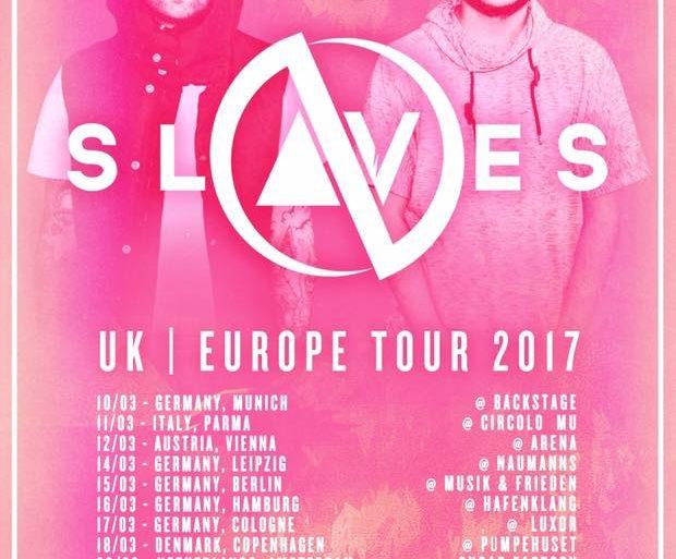 Slaves EU Tour 2017