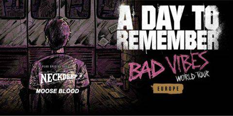 A Day To Remember Bad Vibrations Tour 2017