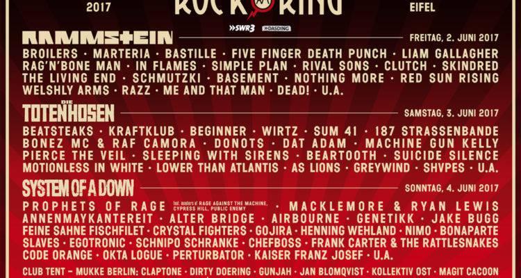Rock Am Ring 2017 Nach Der Terrorwarnung Geht Die Veranstaltung