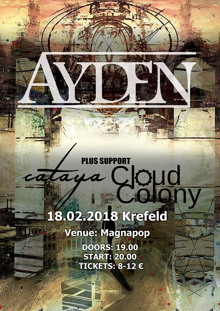 2018 winter journey ayden und support am im magnapop krefeld time for metal. Black Bedroom Furniture Sets. Home Design Ideas