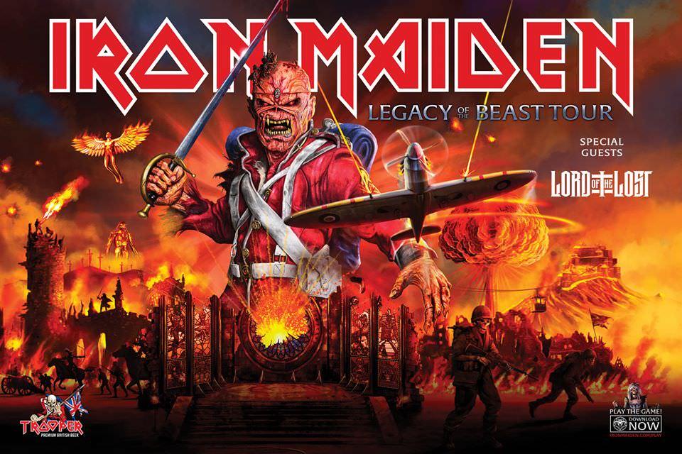 Iron Maiden: kündigen im Rahmen der Legacy Of The Beast