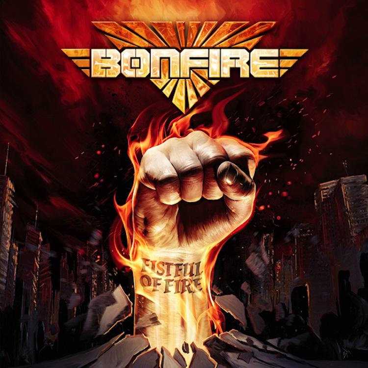 Bonfire Neues Album Quot Fistful Of Fire Quot Kommt Am 03 April