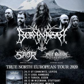 Borknagar - True North European Tour 2020 w Saor