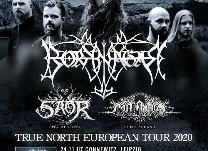 Borknagar - True North European Tour 2020 w Saor