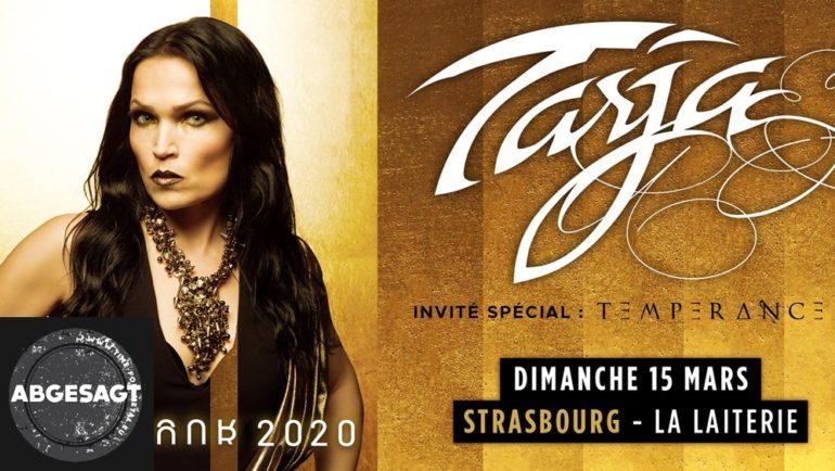 Tarja La Laiterie Straßburg 2020