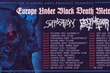Suffocation Europe Under Black Death Metal Fire II