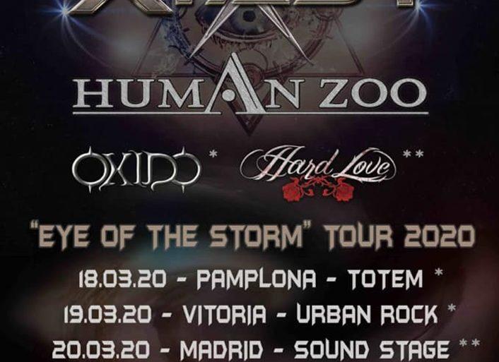 Human Zoo Eye Of The Storm Tour 2020