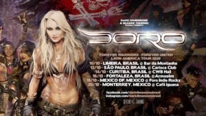 Forever Warriors-Forever United Latin America Tour 2020