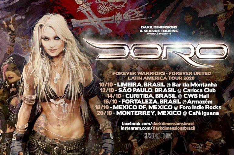 Forever Warriors-Forever United Latin America Tour 2020