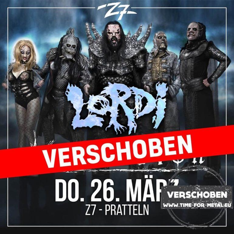 Lordi Konzertfabrik Z7, Pratteln 2020