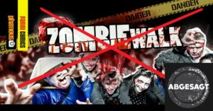 Zombiewalk Stuttgart 2020 abgesagt