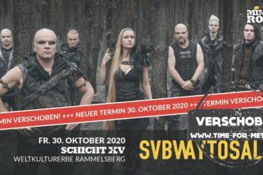 Subway To Sally Konzert Goslar verschoben 2020