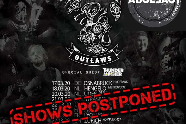 Rose Tattoo European Tour 2020