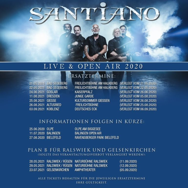 Santiano Tickets 2021