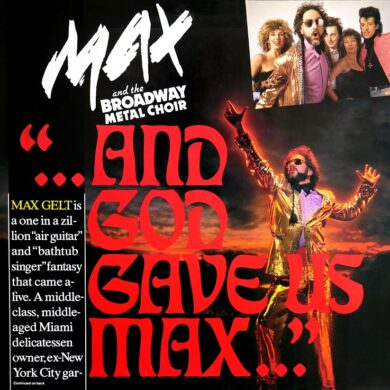Max & The Broadway Metal Choir - And God Gave Us Max